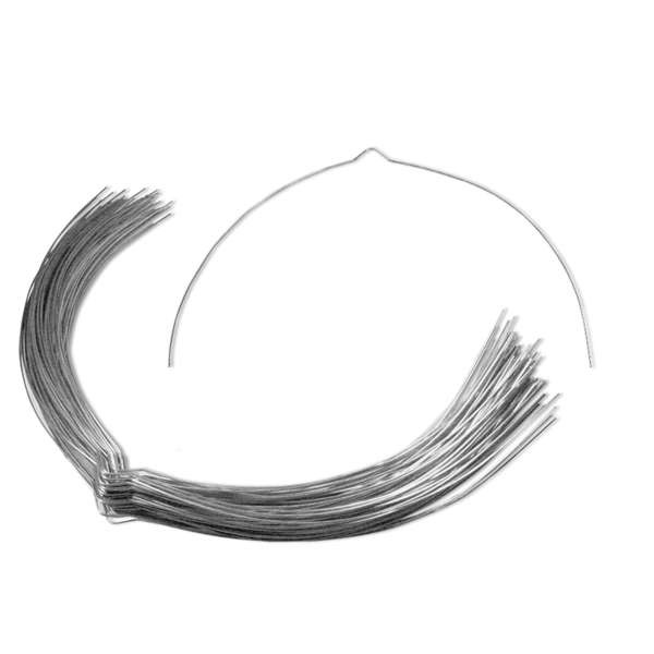 Laternenbügel aus Draht 40 cm