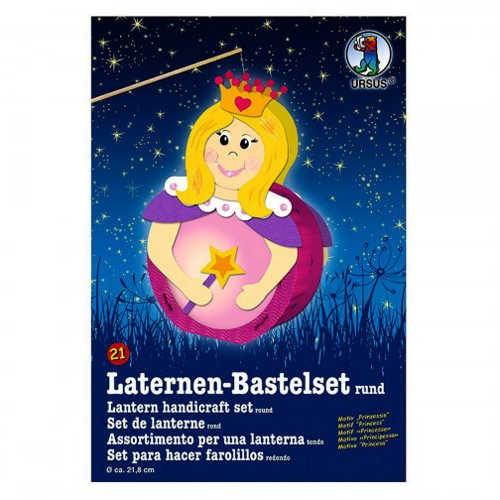 Laternen-Bastelset rund Ø 218mm, Prinzessin
