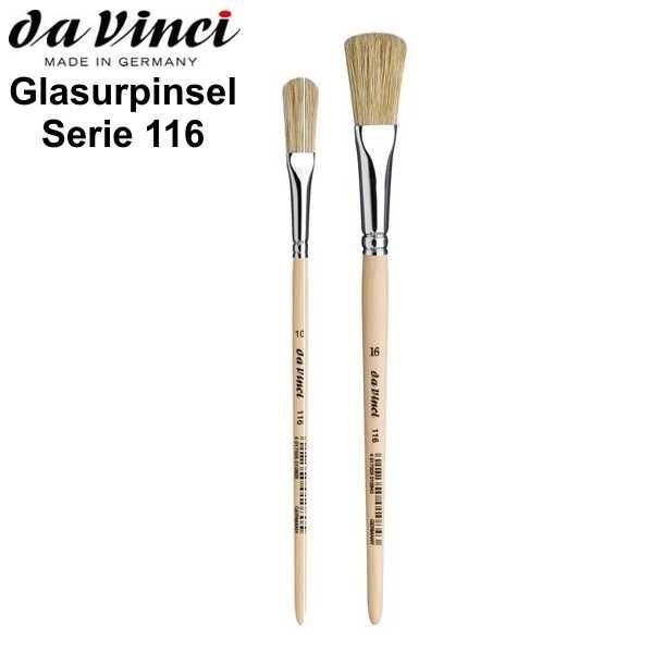 Glasurpinsel Serie 116 von Da Vinci