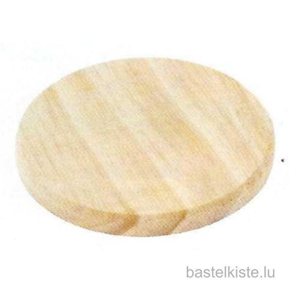 Holzscheiben aus Kiefernholz Ø 103 mm, 4 Stück