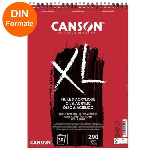 Canson XL Öl & Acrylic Spiralblock 290g/m² 30 Blatt