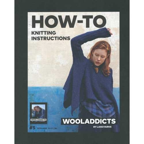 Wooladdicts Nr. 5 (#5) + How-To Knitting Instructions