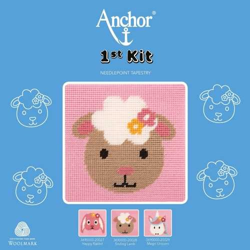 "Anchor Stickpackung, 1st KIT ""Smiling Lamb"""