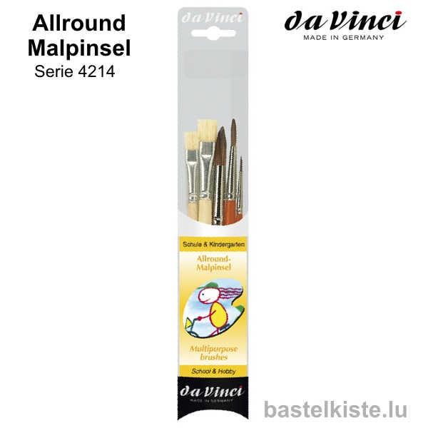 Da Vinci Allround-Malpinsel-Set 4214