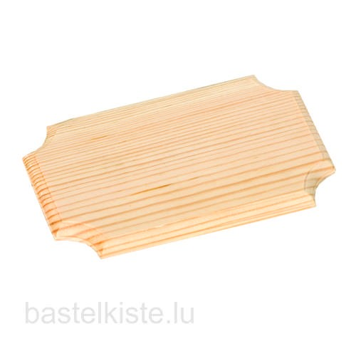 Holzbrettchen 10 x 16 cm aus Kiefernholz