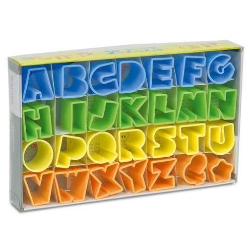 ABC Ausstecher Alphabet Set 28-teilig