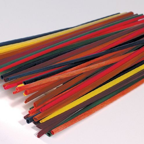 Strohhalme, 22cm 50 Stück, farbig sortiert
