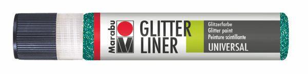592 Glitter-Petrol