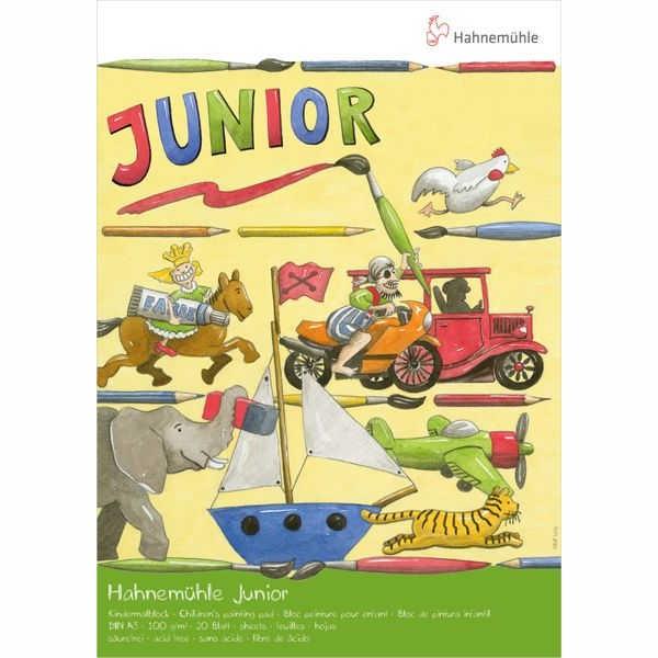 Junior-Malblock 100g/m² A3, weiß
