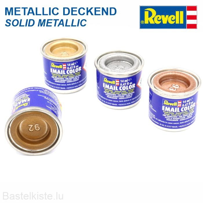 Revell EMAIL LACK 14 ml ►metallic deckend◄