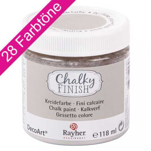 Chalky Finish 118ml - ultramatte Kreidefarbe