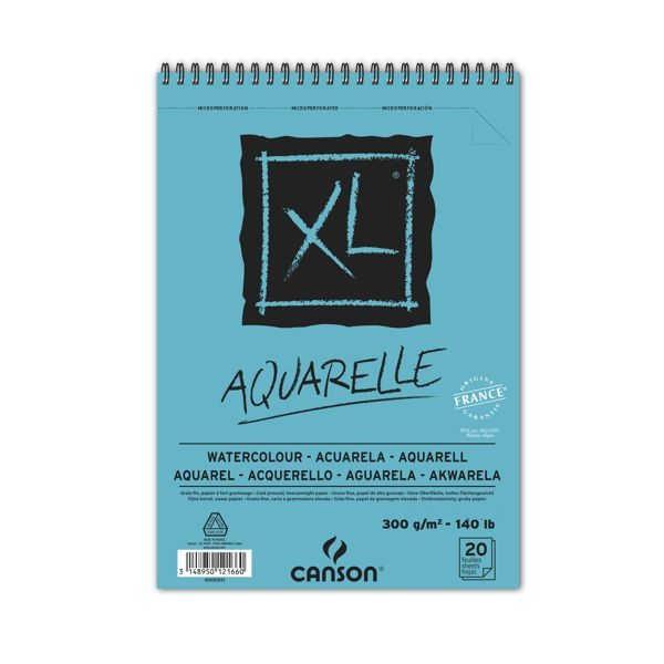 XL-Aquarell-Spiralblock 300g/m² verschiedene DIN-Formate