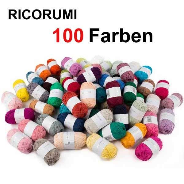 Ricorumi 25g Alle Farben PRINT, SPRAY, UNI, NEON