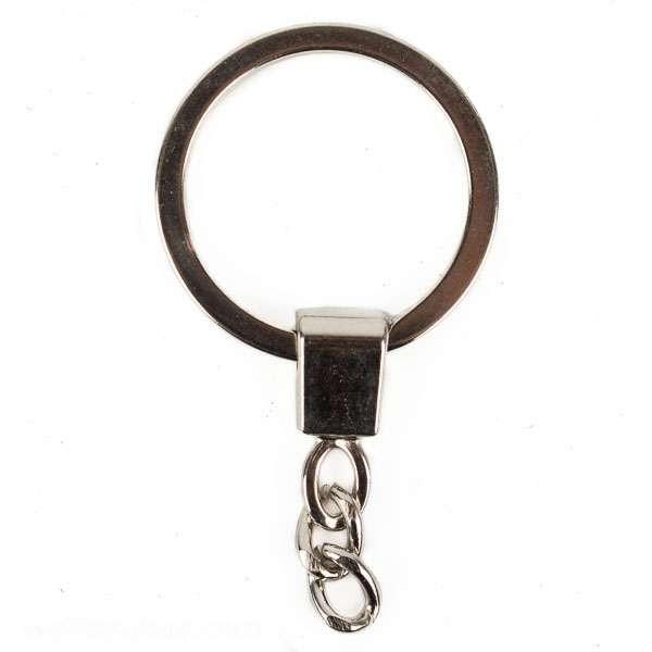 Schlüsselkette aus Metall flach