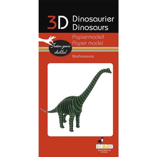 "3D Papiermodell ""Brachiosaurus"" zum zusammenbauen"