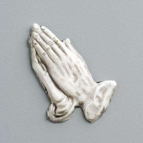 Wachsdekor betende Hände