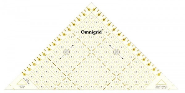 Dreieck-Lineal 1/2 Quadrat bis 15 cm prym 611314