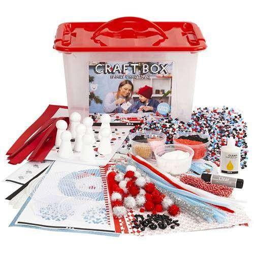 Große JUMBO Bastelbox, Bastelset für Weihnachten