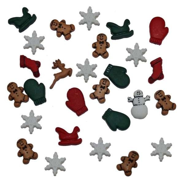 """Dress it up Knöpfe, """"Christmas Miniatures"""""""