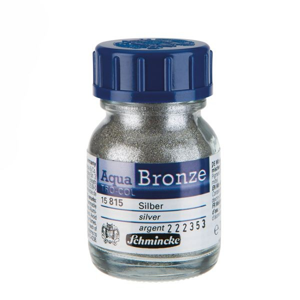 Schmincke Aqua BRONZE 20ml ►Silber◄