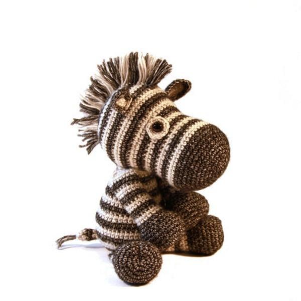 HäkelSet Dirk das Zebra (AMIGURUMI)