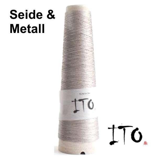 ITO Tetsu Seide & Metall Garn, wollzauber