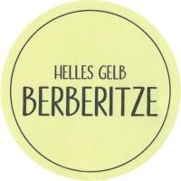 BERBERITZE helles Gelb