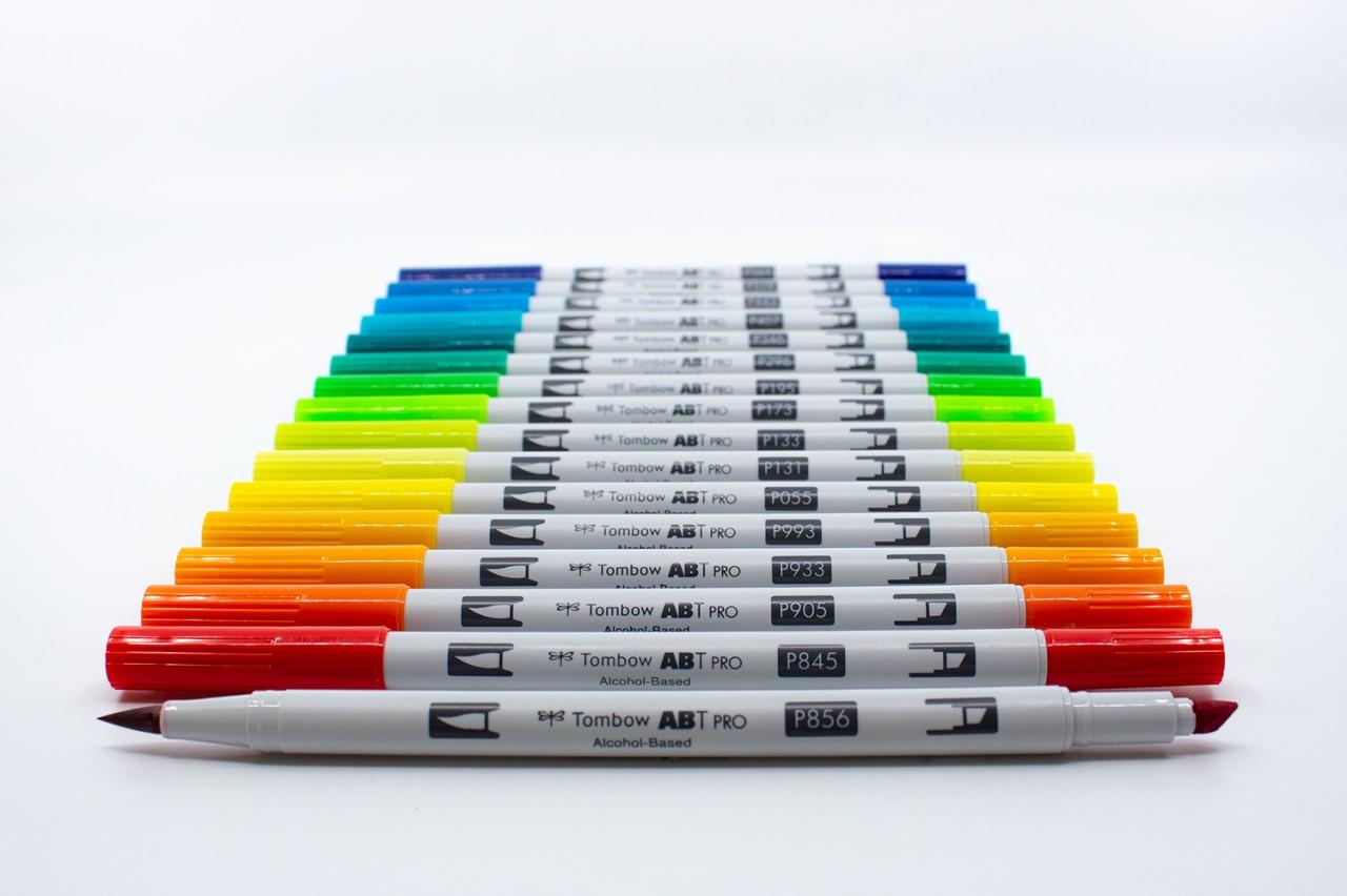 Tombow ABT PRO Einzelstifte in 107 Farben + Blender