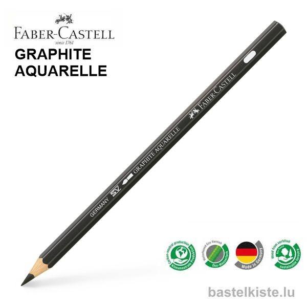 Castell Wasservermalbare Bleistifte einzeln HB bis 8B
