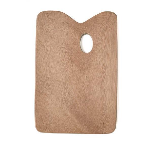 Mischpalette, Holzpalette rechteckig 27 x 41 cm, Ø 5 mm