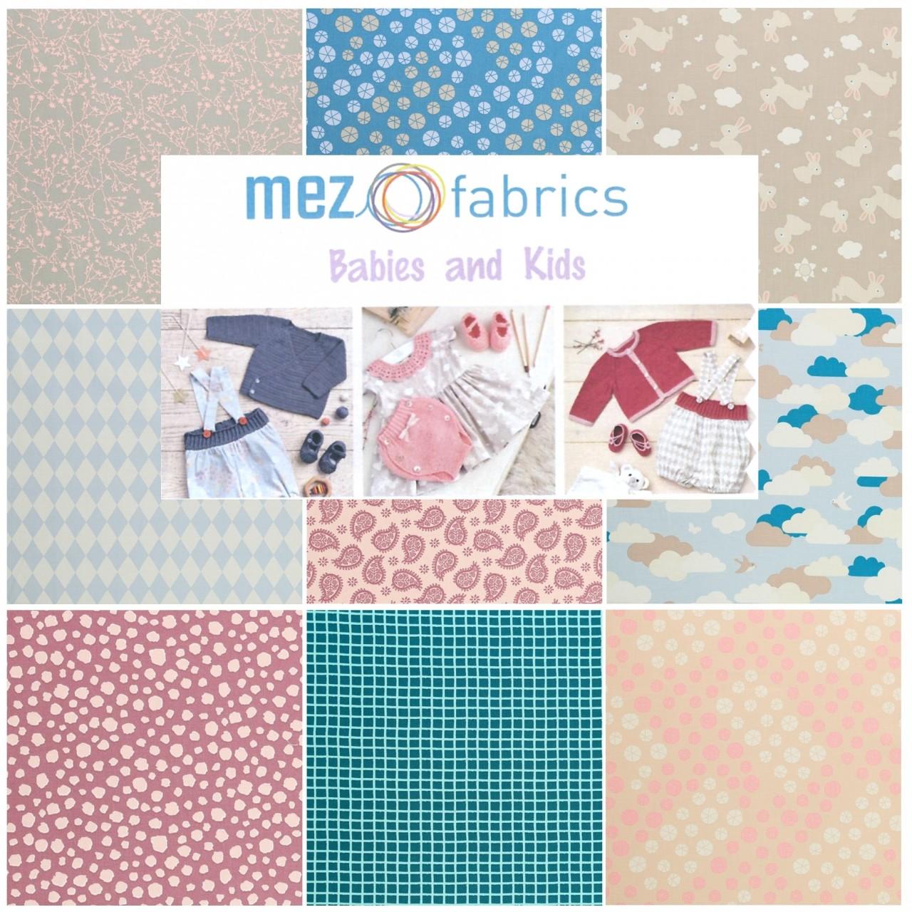 MEZ fabrics baby love wollzauber Babystoffe