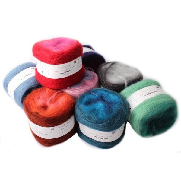 Rico Super Kid Mohair Silk Colourlove ✓ Top Preise ✓ Versandkostenfrei ab 20,- €  DE, LU ✓ Große Auswahl an Wolle ✓ Wolle von hoher Qualität ✓ Schnelle Lieferung ✓ Zufriedene Kunden ✓