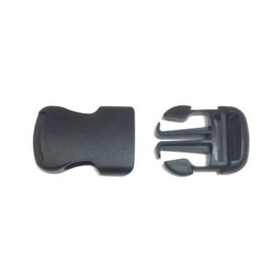 Kunststoff Steckschnalle schwarz 25mm