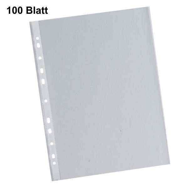 Klarsichthüllen transparent 100my, A4 100 Stück