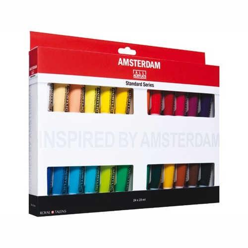 AMSTERDAM Acrylfarben Set 24 x 20ml