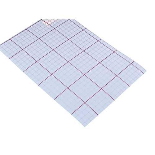 PVC Hartfolie, 0,3 mm, 60 cm breit, 1seitig klebend, Länge: 1m