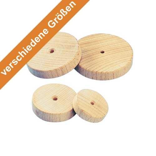 Holzrad natur in verschiedenen Größen