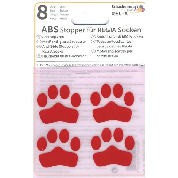 Regia ABS Stopper Anti Rutsch für Socken zum aufbügeln