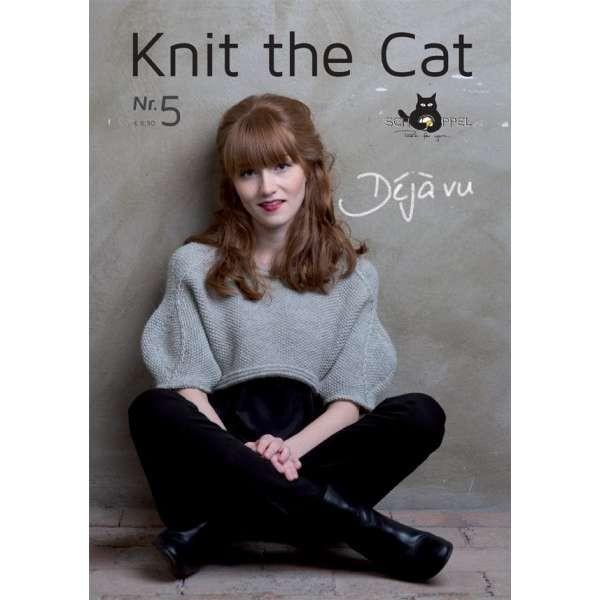Schoppel Strickanleitung Knit the Cat Nr. 5 Déjà vu