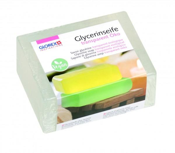 GLOREX Glycerinseife, transparent Öko