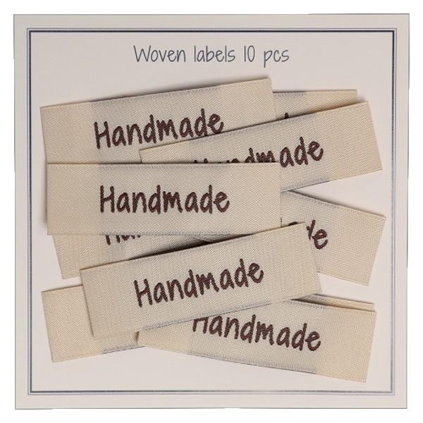 "Stoff-Label ""Handmade"" wollzauber"