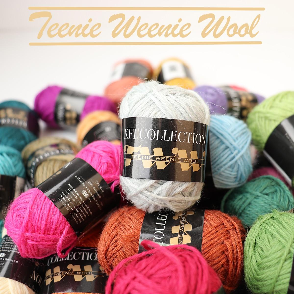 Mini Wollknäuel KFI Teenie Weenie Wool 10g