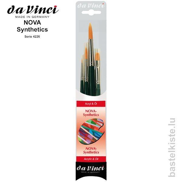Da Vinci Acrylmalpinsel Set, Pinsel Set 4226