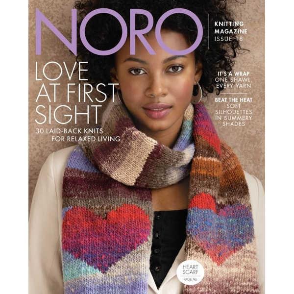 NORO Strickheft, Knitting Magazine Nr. 18