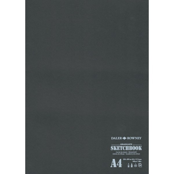Daler-Rowney SKETCHBOOK A4 140g/m² 20 Blatt
