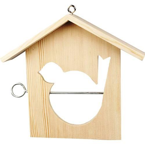 Vogelfutterhaus für den Winter