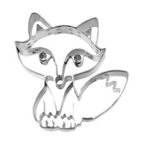 Präge-Ausstechform Fuchs 7,5 cm aus Edelstahl