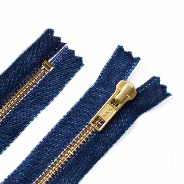 YKK Hosen Reißverschluß Jeans 16cm
