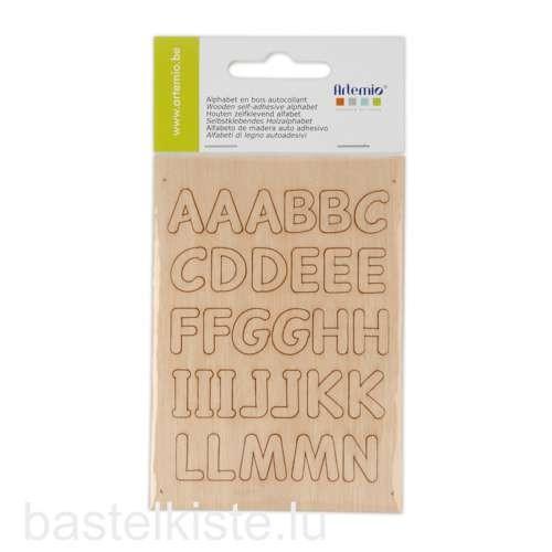 Holzbuchstaben ABC Set