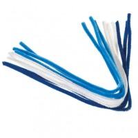 48 weiß/hellblau/blau